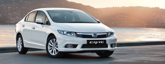 Honda Civic 4D 2012-2013