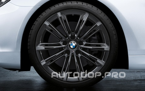 "Диск литой 20"" M Performance V-spoke 464 Liquid Black"