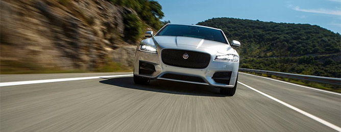 Jaguar XF NEW С 2016+