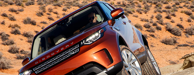 Land Rover Discovery 5 2018-