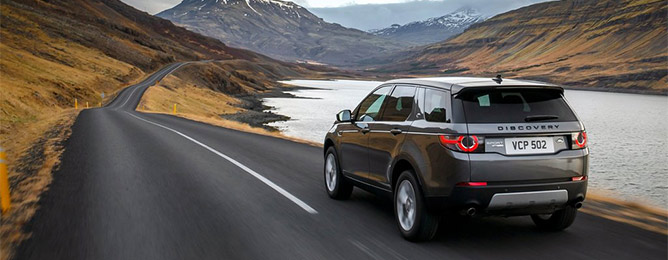 Land Rover Discovery Sport с 2015-